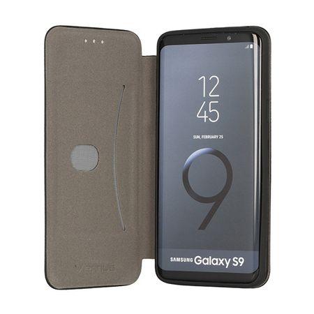 Havana etui Premium Soft za Samsung Galaxy S9 G965, preklopna, crna