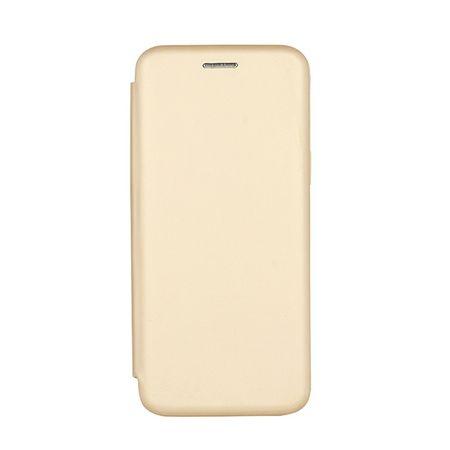 Havana etui Premium Soft za Samsung Galaxy S9 G965, preklopna, zlatna