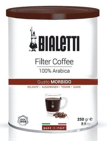 BIALETTI kava Coffee Tin 250 gr. Filtered