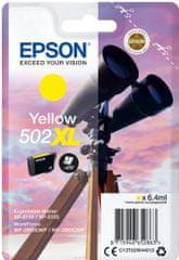 Epson 502XL, żółty (C13T02W44010)