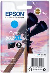 Epson 502XL, cyjan (C13T02W24010)