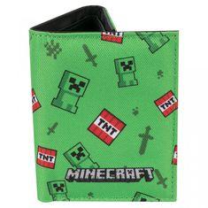 Pénztárca Minecraft - Creeper Sprite