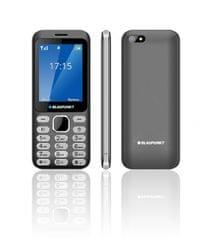 Blaupunkt telefon na tipke FL 02 2G, dual sim, siv