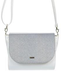 GROSSO BAG ženska torbica preko ramena Samira, srebrna