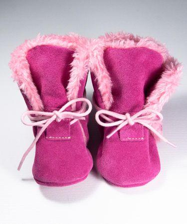 baBice buty ocieplane dziewczęce 16.5 różowe