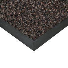 FLOMAT Hnědá textilní čistící vnitřní vstupní rohož Valeria, FLOMAT (Bfl-S1) - 0,9 cm