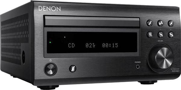 minisystém Denon RCD-M41DAB čistý zvuk poměr odstupu signál šum