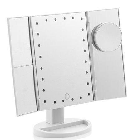 Ceramic Blade Zvětšující Zrcadlo s LED 4 v 1
