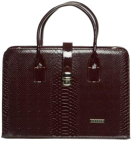 GROSSO BAG ženska torbica, smeđa