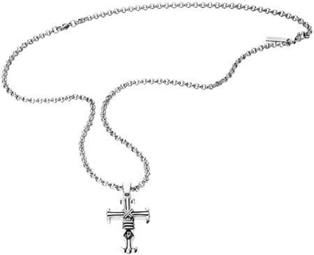 Police Ogrlica za moške vere PJ25709PSS / 01