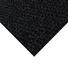 FLOMAT Černá kobercová vnitřní čistící zóna Alanis, FLOMAT - 0,75 cm