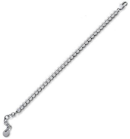 Oliver Weber Nowoczesna bransoletka dla kobiet Tenis 32215 CRY (długość 20 cm)