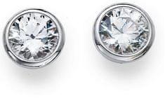 Oliver Weber Basic ezüst fülbevaló kristályokkal 62072 ezüst 925/1000