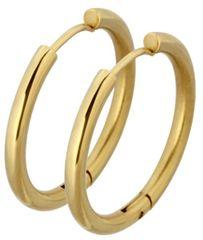 Tribal Aranyozott fülbevaló gyűrű ESS503_20 Arany