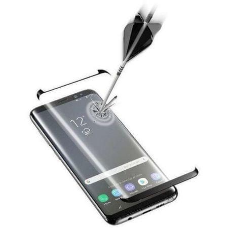 CellularLine zaščitno steklo za Samsung Galaxy Note 9, črno