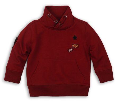 Minoti fiú pulóver Yay 122 piros