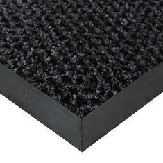 FLOMAT Šedá textilní čistící vnitřní vstupní rohož Alanis, FLOMAT - 0,75 cm