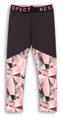 Minoti Fearless lány legging 158 fekete-rózsaszín