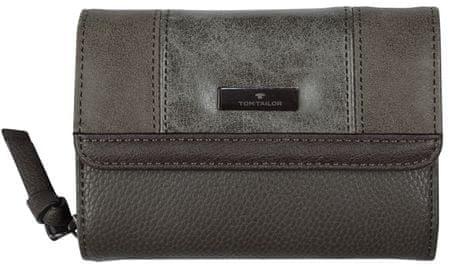 Tom Tailor dámská tmavě šedá peněženka Juna