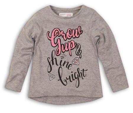 Minoti dívčí tričko GTP 152 šedá