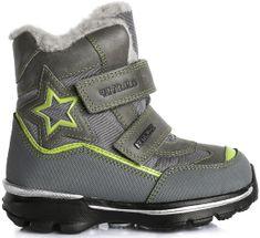 D-D-step chlapecké zimní boty s hvězdou