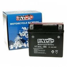 Batérie KYOTO 12V 4Ah YTX5L-BS (dodávané s kyselinovú náplňou)