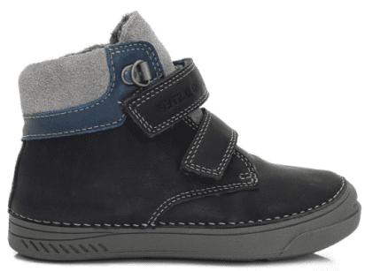 2b0f3d258 D-D-step chlapčenské členkové topánky 35 modrá | MALL.SK