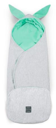 Floo For Baby podloga za otroški voziček z ušesi 2v1, belo zelena