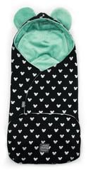 Floo For Baby rożek niemowlęcy 2w1 z uszkami MIKI