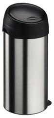 Meliconi Koš na odpadky SOFT-TOUCH 60L Stříbro