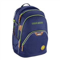 CoocaZoo plecak szkolny Coocazoo EvverClevver2, Denim Blu, certyfikat AGR