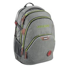 CoocaZoo plecak szkolny Coocazoo EvverClevver2, Denim Grey, certyfikat AGR