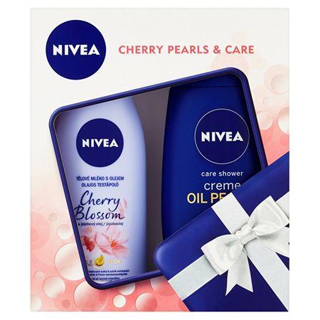 Nivea Darčeková sada Cherry Pearls & Care