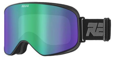 Relax gogle narciarskie Strike HTG62 Czarne Matowe