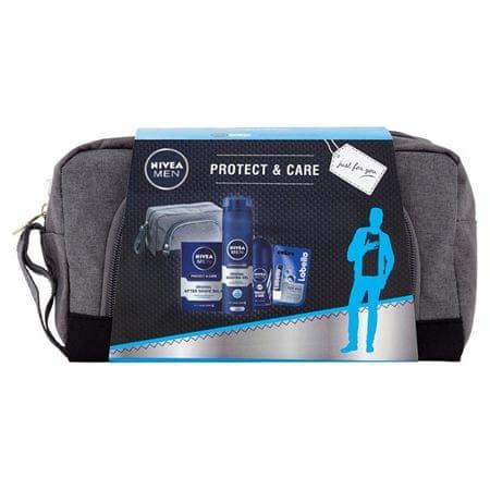 Nivea Ajándékcsomag férfiaknak Protect & Care
