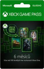 Microsoft Xbox Game Pass 6 měsíců (S3T-00004)