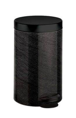 Meliconi koš za odpadke New Line, 14 L, črn