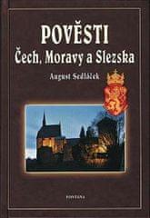 Sedláček August: Pověsti Čech, Moravy a Slezka