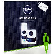 Nivea Darčeková sada na holenie Sensitiv e Skin