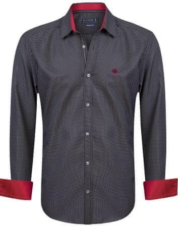 Sir Raymond Tailor pánská košile Corner S čierna