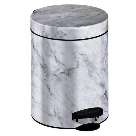 Meliconi Kosz na odpadki 5 l PEDAL BIN MARBLE