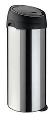 Meliconi koš za otpad SOFT-TOUCH, 60 L, nehrđajući čelik