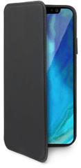 CELLY Könyv típusú tok Prestige Apple iPhone XS Max-ra, PU bőr, fekete PRESTIGE999BK