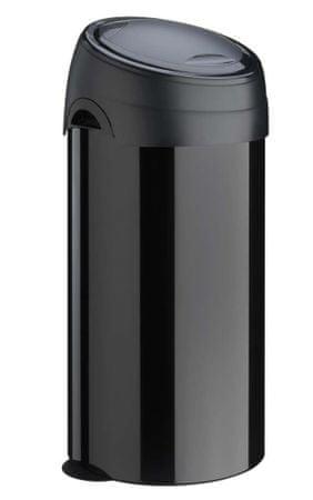 Meliconi koš za odpadke SOFT-TOUCH, 60 L, črn - Odprta embalaža
