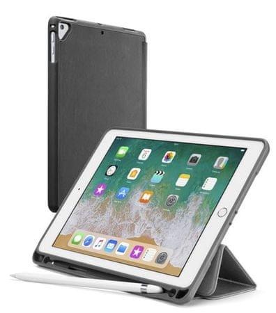 CellularLine etui za tablet iPad (2018)s ladicom za olovku FOLIOPENIPAD1897K, crni