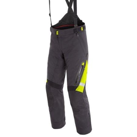 Dainese pánské kalhoty GRAN TURISMO GORE-TEX vel.46 černá/fluo žlutá, textilní