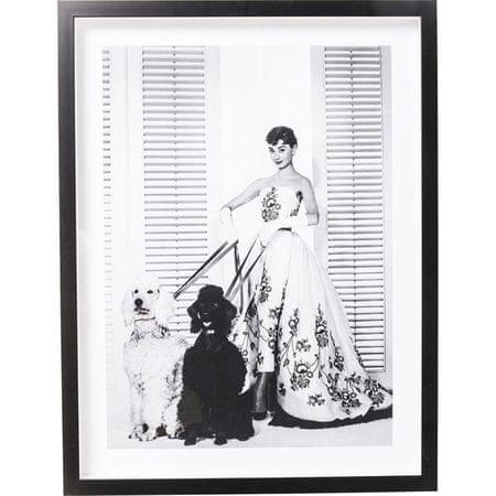 KARE Obraz s rámem Actor Audrey Diva 65x85 cm