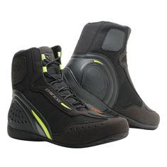 Dainese kotníkové moto boty MOTORSHOE D1 D-WP černá/fluo žlutá/antracitová
