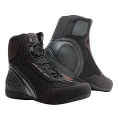 Dainese kotníkové moto boty MOTORSHOE D1 D-WP černá/antracitová