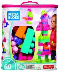 MEGA BLOKS Nagy lányos építő csomag, 60 db